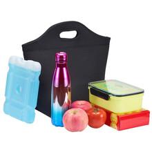 廠家直銷潛水料手提保溫保冷午餐包,野餐包圖片
