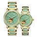 戈菲爾品牌緬甸翡翠原石全自動機械情侶手表