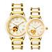深圳厂家直销新疆和田玉白玉情侣机械手表手表戈菲尔正品牌