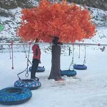 大型雪地游乐设备雪地转转山东卧童厂家冬季滑雪设备