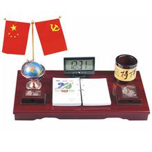 珠海专业生产红木台历批发台历图片