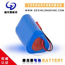 矿井投光灯18650电池组12V2200mAh锂电池组按摩枕医疗监护仪11.1v
