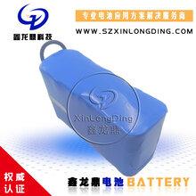 11.1V锂电池组1865010AH6AH水文检测站疫苗低温冷藏箱医疗设备图片