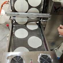 定制全自动圆形方形春卷皮机多种加热方式春卷皮设备山东名诺MNCJP-D型春卷皮机图片
