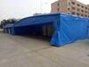 定做戶外遮陽夜宵移動推拉帳篷夜市大型排擋雨棚活動伸縮式雨篷