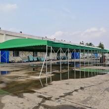 东莞工厂推拉篷施工服务图片