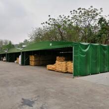 广州工厂推拉篷施工厂家图片