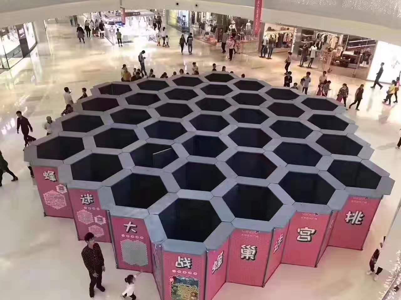 活动展览蜂巢迷宫垂直风洞12米钢骨架球幕影院租赁租售