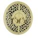 珠海新中式三角花圓盤拉手價格