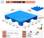 辽宁专业生产平板塑料托盘厂家价格厂家直销