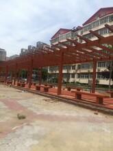 黑龙江专业承接仿木长廊施工报价图片