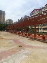 青海专业从事仿木长廊安装图片