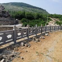 福建专业承接仿石护栏施工报价施工团队图片