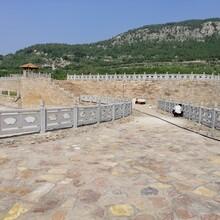 云南专业承接仿石护栏施工电话图片