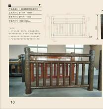 广东专业从事仿树皮护栏施工图片