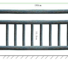 湖南专业承接仿树皮护栏安装价格图片