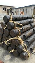陕西专业从事仿树皮护栏安装价格图片