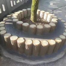 四川专业从事仿树桩五联排安装图片
