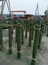 上海市仿竹护栏安装图片