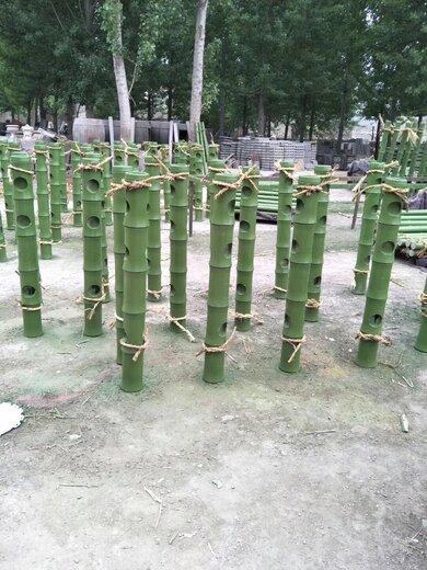 仿竹护栏图