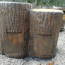 保定垃圾桶花箱施工图片