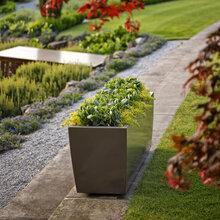 不锈钢花箱户外花钵花箱园林花箱