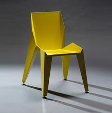 山东现代简约金属餐椅家用工业风靠背休闲椅定制厂家