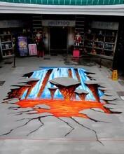 3D墙画,酒店墙画,重庆火锅墙画,奶茶店墙画图片