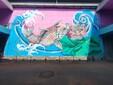 餐厅饭店墙壁彩绘墙绘专业设计公司图片