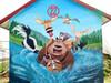 栖霞区餐厅饭店墙壁手绘涂鸦彩绘定制
