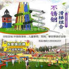 深圳幼儿园不锈钢滑梯定制-深圳骑牛人游乐设备有限公司