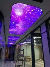 云浮高清UV软膜天花安装工程图片