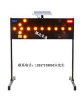 太阳能导向标志、太阳能导向灯、led发光标志牌生产厂家