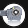 甘肅專業的K系列斜齒輪硬齒面減速機