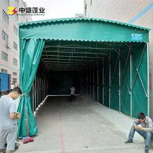 厂家直销移动收缩雨棚_钢结构仓库帐篷搭建移动帆布棚尺寸定做