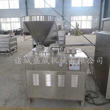 台湾烤肠液压灌肠机价格-不锈钢立式灌肠机厂家?#27605;?哈尔滨灌肠机图片