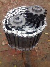 不銹鋼鏈輪工業機械鏈輪非標定做單排雙排三排雙齒工業鏈輪齒輪圖片