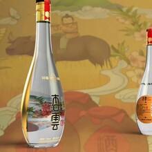 菏泽玻璃酒瓶生产厂家图片