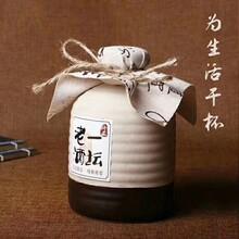 正定订酒瓶_信阳玻璃50ml酒瓶生产厂家图片