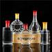 福建龙岩瑞升玻璃酒瓶厂家750ml透明工艺酒瓶