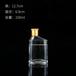 浙江溫州瑞升玻璃酒瓶廠家人參酒瓶色澤通透樣式大方
