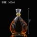 福建龙岩瑞升玻璃酒瓶厂家透明酒瓶小批量发售