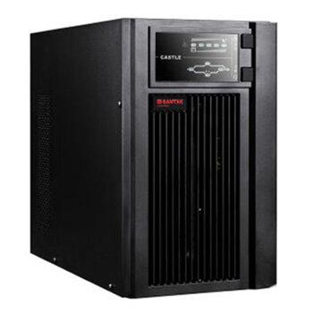 鄭州山特C10KS不間斷電源10KVA負載9000W外配電池組192V