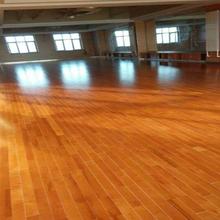 室內籃球館羽毛球館舞蹈教室舞臺運動楓木實木地板廠家直銷圖片