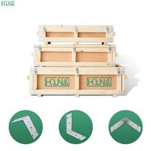 HOUNA木箱包邊,航空箱包角,球形包角,90度包角,工具箱包角圖片