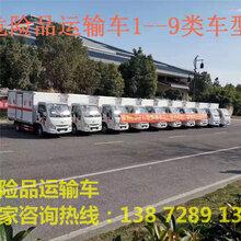 专用乙醇厢式运输车配置介绍图片