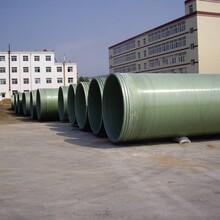玻璃鋼夾砂管道施工礦山管道圖片