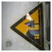 警示標志樁標識樁澤潤價格賀州玻璃鋼標識牌