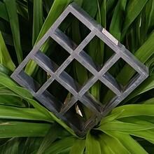 廣元化工廠平臺玻璃鋼格柵板防滑格柵圖片