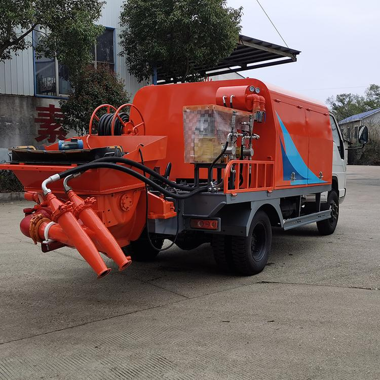 云南思茅泵送式濕噴機小型濕噴機